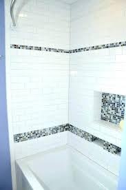 tile above shower surround miniature subway tiles tile shower surround installing bathtub shower tile surround ideas