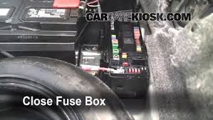 interior fuse box location 2005 2010 chrysler 300 2005 chrysler test component secure the cover and test component