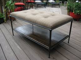 inspiring diy tufted ottoman coffee table with wood decks and patio furniture ideas cosy home interior design using target storage ikea oversized