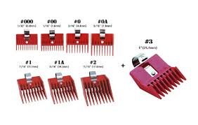 Hair Clipper Guard Sizes Examples Sbiroregon Org