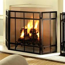amazing fireplace cover or free standing fireplace screen with glass doors gas screens leaf target