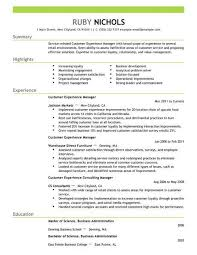 customer experience manager best customer experience manager resume example livecareer