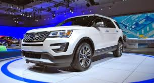 ford explorer silver 2015. ford decided to give the 2016 explorer new styling and heart of a mustang. but throwing some more attention on this crossover seems highlight how silver 2015