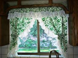 Kitchen Curtains For Installing The Beautiful Vintage Kitchen Curtains
