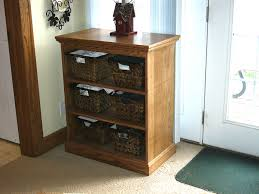 Long Storage Cabinet Storage Shelves With Lovely Baskets Long Narrow Black Storage