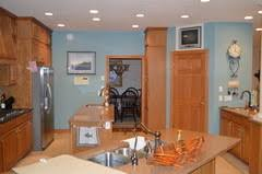 Innovation Kitchen Wall Colors With Oak Cabinets R Intended Design