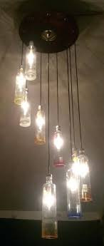 glass bottle chandelier modern wine glass chandelier new bottle chandelier lamp made from 1 liter glass glass bottle chandelier