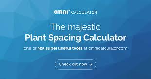 Plant Spacing Calculator Omni