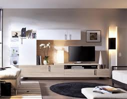 ... Living room, Rimobel XL Contemporary Wall Storage System Various  Colours With LEDs Living Room Storage ...
