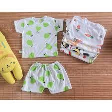 5 sét đồ quần áo cộc tay cho trẻ sơ sinh/hàng mùa hè cho bé tại Thanh Hóa