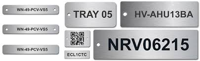 Engraved Tags Labels Nameplates Plaques Signage Lps