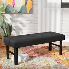 bottom of bed bench.  Bottom Kaydence Upholstered Bedroom Bench With Bottom Of Bed T