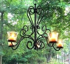 outdoor hanging candle chandelier outdoor candle ier non electric hanging large outdoor hanging candle holder chandelier