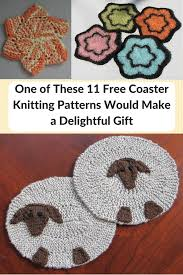 Knit Coaster Pattern New Inspiration