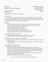 Respiratory Therapist Resume Objective Examples Mental Health