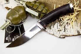 <b>Нож Кобра-3</b>, <b>сталь</b> 95х18, граб - купить в интернет магазине