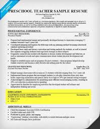 Early Childhood Teacher Resume Modern How To Write A Resume Step By Step Guide Resume Companion