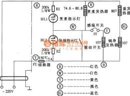 index 109 electrical equipment circuit circuit diagram manpower insulation type electronic rice cooker circuit diagram