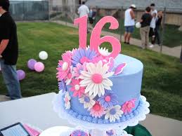 Pink Sweet 16 Birthday Cakes Classic Style Ideas For Sweet 16