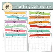 June 2015 Calendar Free Printable Live Craft Eat