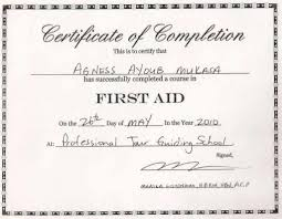 first aid certificates templates certificate first aid certificate templates middot first aid certificate template