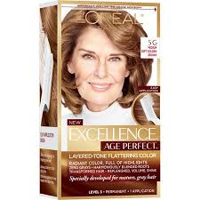 Age Perfect Hair Color Chart Loreal Paris Excellence Age Perfect 5g Medium Soft Golden Brown 1 Application