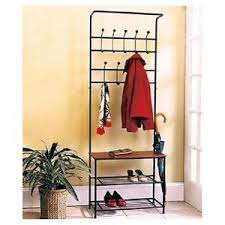 Coat And Hat Rack Stand Coat Rack Shoe Rack Entryway Bench Mud Room Hat Rack Umbrella 23