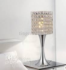 Superb Minimalist Modern Fashion K9 Crystal Table Lamp Decorative Lamp Creative  Art Lamp Bedside Bedroom Living Room Lighting Crystal Table Lamp Online  With ...