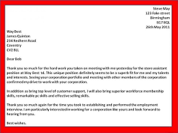 Thank You Letter For Business Opportunity Sample Cover Letter