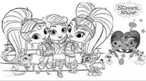 Opulent Design Ideas Shimmer And Shine Printable Coloring Pages New