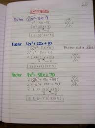 solving a quadratic equation by factoring worksheet jennarocca