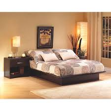 step one contemporary bed frame queen chocolate brown online only contemporary bed frames21