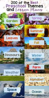 Fall Lesson Plans For Toddlers 200 Of The Best Preschool Themes And Lesson Plans