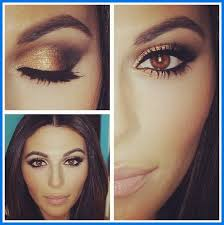 eye makeup for brown eyes dark skin