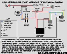 simple motorcycle wiring diagram for choppers and cafe racers Simple Wiring Diagram For Chopper if you google \