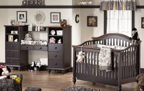 Bedroom, Enchanting Ashley Furniture Baby Cribs Kids Furniture Warehouse  Black Bed Black Wardrobe Dolls: