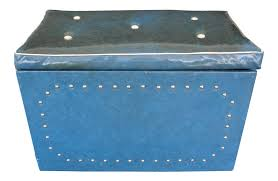 Vintage \u0026 Used Blue Trunks and Chests   Chairish