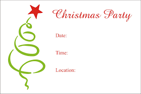 004 Christmas Free Printable Party Flyer Templates Word
