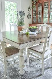 white round farmhouse table antique dining table updated with chalk paint antique dining table updated with