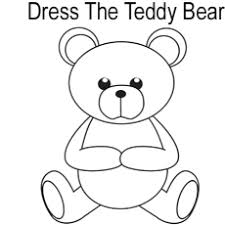 teddy bear coloring pages. Unique Teddy Dress The Teddy Bear Bear Enjoying Picnic Coloring Pages And E