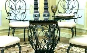 round glass table set round glass dining table with chairs round glass top dining set oval