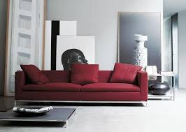 red sofainterior design ideas