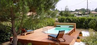 Terrasse Et Piscine Hors Sol
