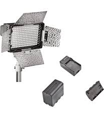 Video Camera Led Light Price In India Sonia Led Light With Battery Charger For Still Video Cameras Model No Mc 216