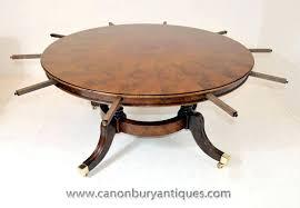 round extending dining table amazing regency extending dining table in walnut round tables inside round extending