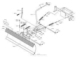 Dixon snow blade assembly 5000 series 1996 parts diagram for snow diagram snow blade