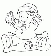 Small Picture Coloring Page Baby Printable Coloring Pages Coloring Page and