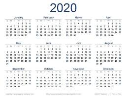 Word 2020 Calendars 2020 Calendar Templates And 2020 Calendar Templates And