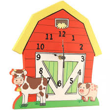 bedroom bedroom accessories lovely children wall clock with colorful barn house design fetching wall decoration in accessorieslovely images ideas bedroom