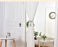 Elegant Pure White Window Sheer Curtains Voile For Living Room Bedroom Dust  Proof Translucent Fabric Wholesale Price Free Ship Sheer Curtain Priscilla  ...